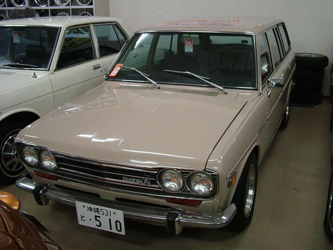 1972 ダットサン510ワゴン 北米左ハンドル