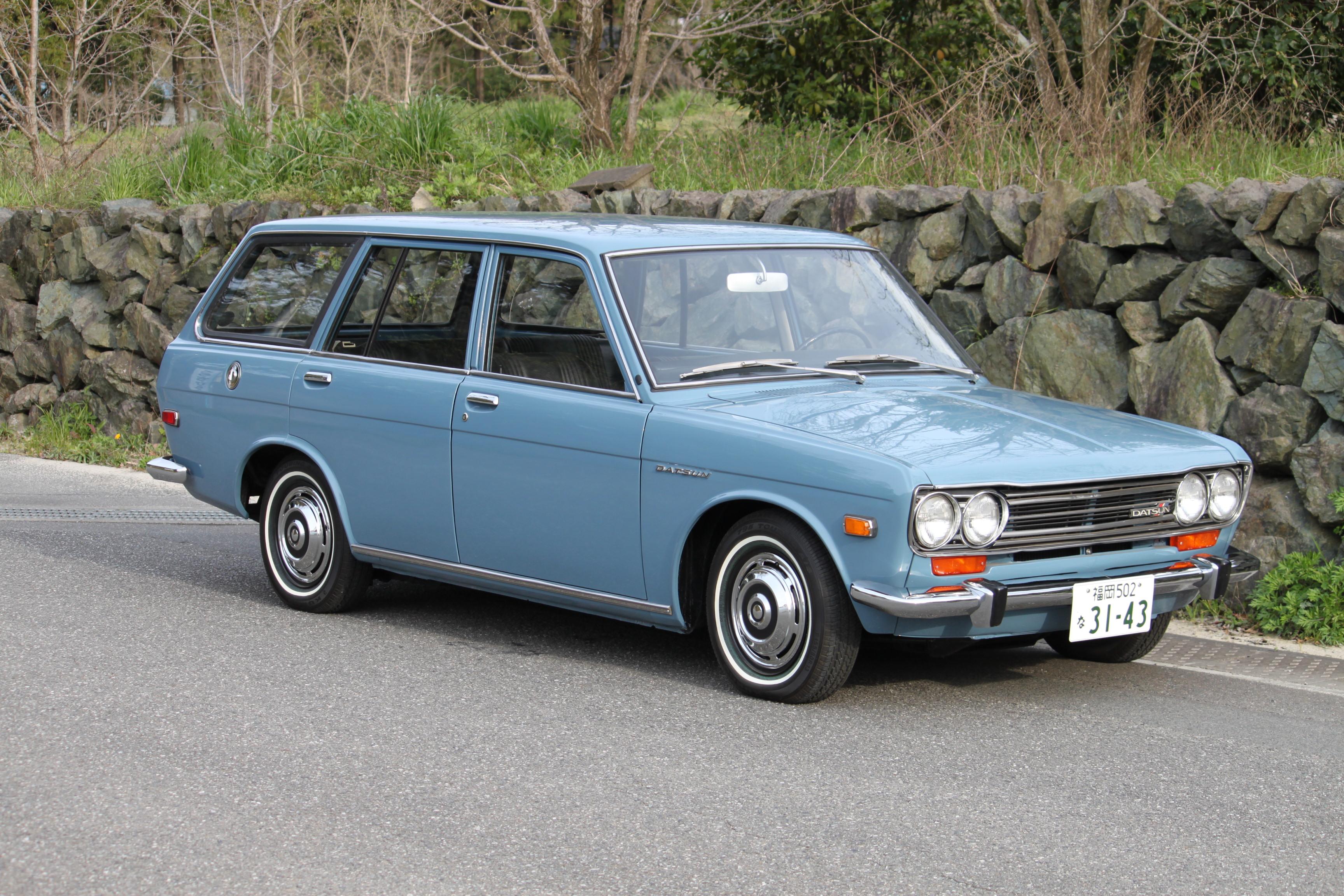 1970 ダットサン510ワゴン 北米左ハンドル