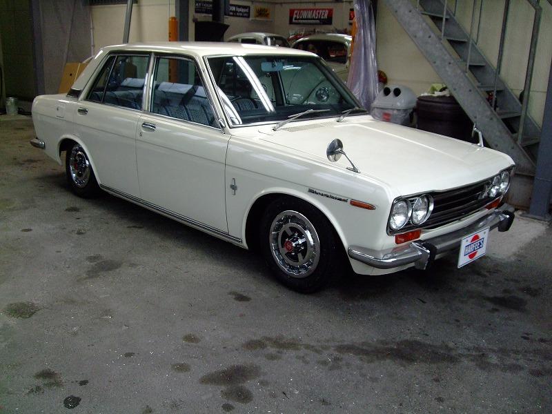 昭和45年ブルーバード510 1600DX