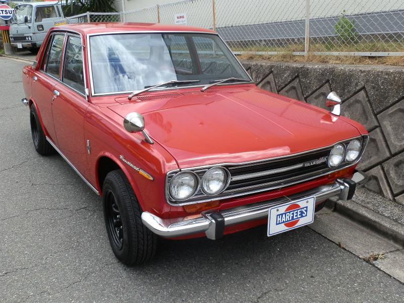 1969DATSUNブルーバード510