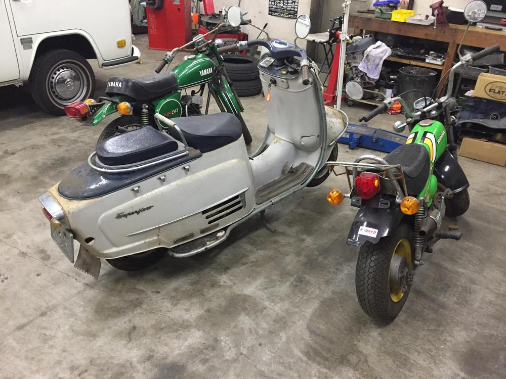 Rabbit S601/Yamaha MR50/Honda nautyDAX