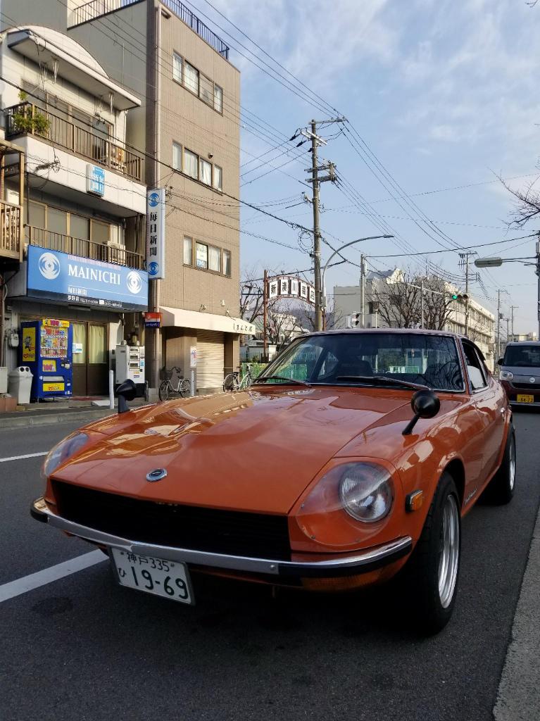 1969年DATSUN 240Z