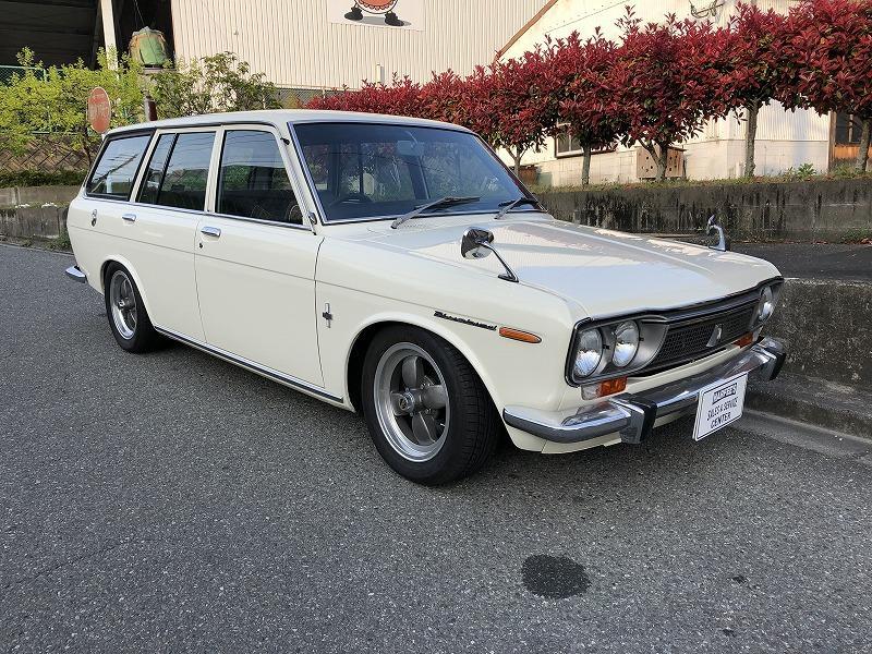 昭和47年510ワゴン