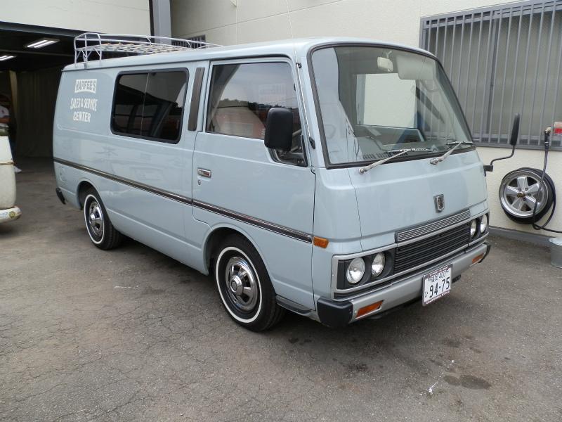 1985 E23キャラバンVAN!