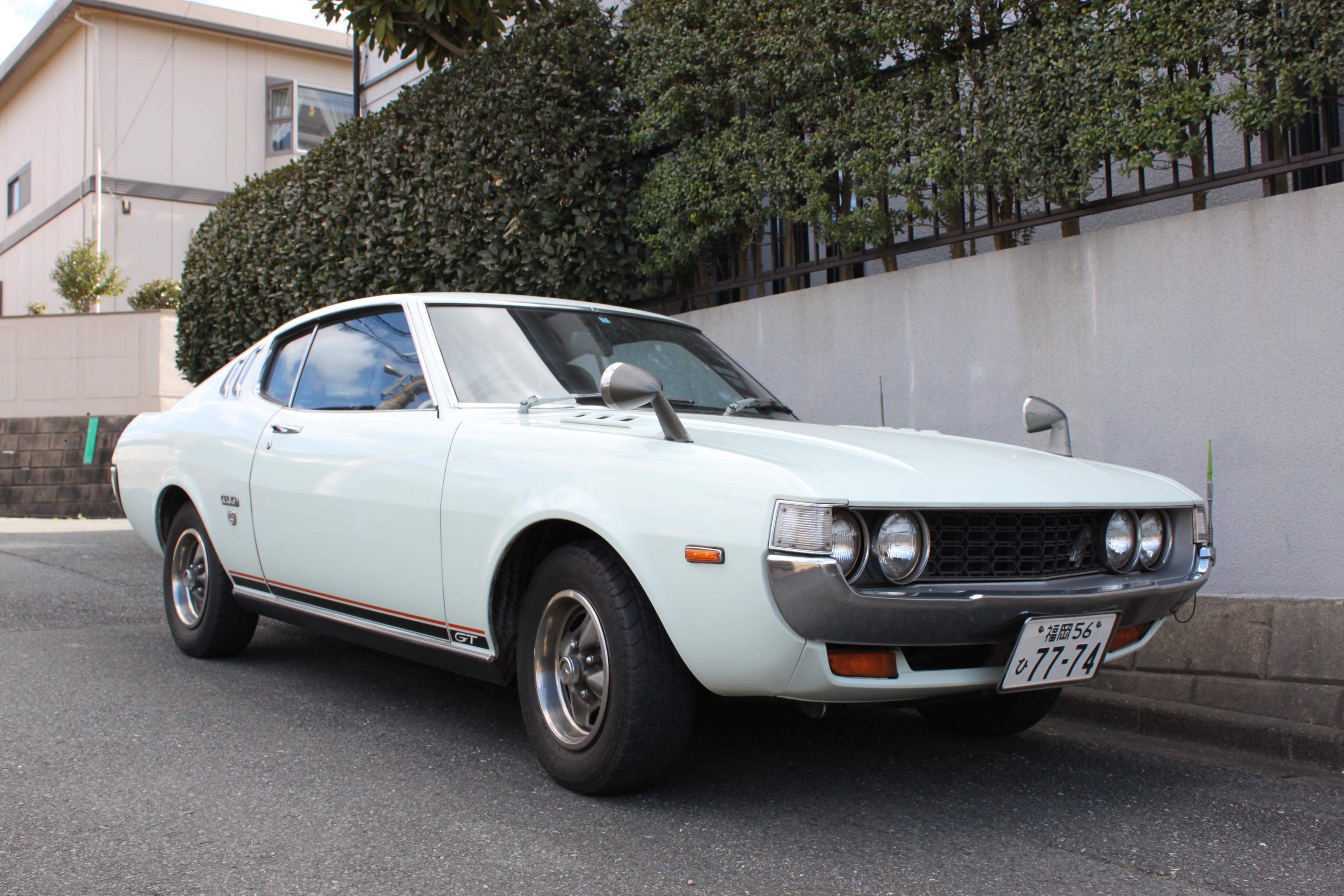 昭和50年セリカリフトバック1600gt|car For Sale|旧車、レストアなら九州、福岡のharfee S