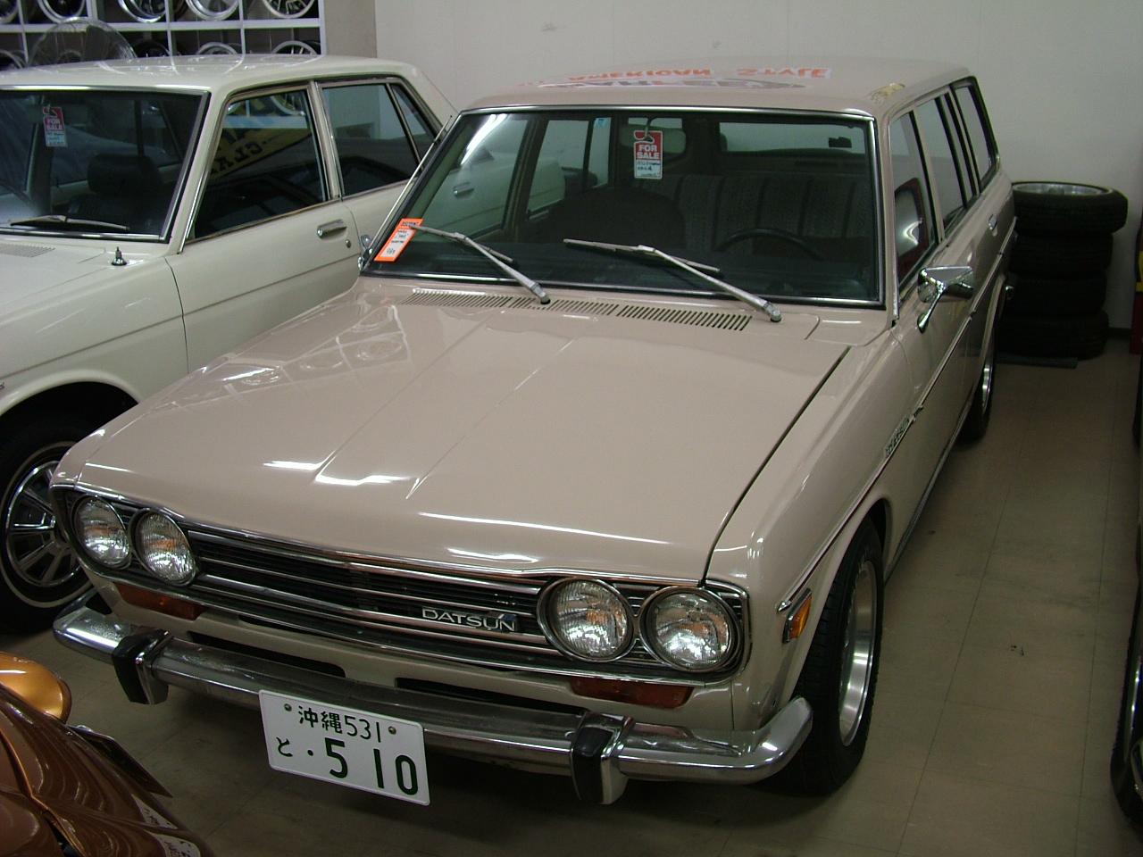 1972 ダットサン510ワゴン 北米左ハンドル|car For Sale|旧車、レストアなら九州、福岡のharfee S
